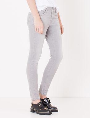 Jeans skinny fit grigio