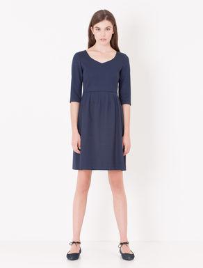 Corolla Dress di tessuto jacquard