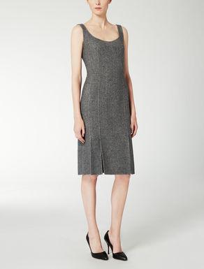 Kleid aus Wolle und Angora