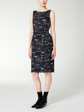 Vestido tubo de Jacquard