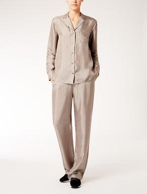 Silk twill bottoms