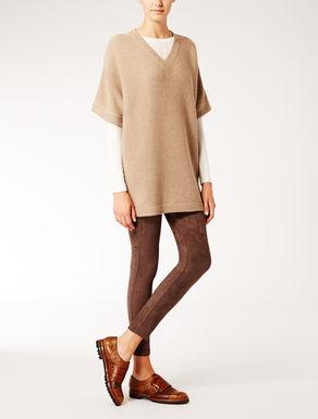 Oversized knit shirt