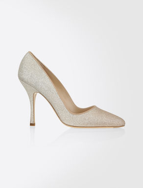 Pumps in Glitteroptik
