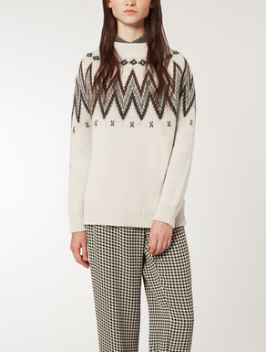 Mohair heavy knit shirt