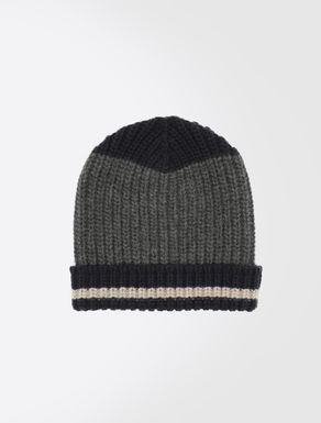 Pure wool beanie hat
