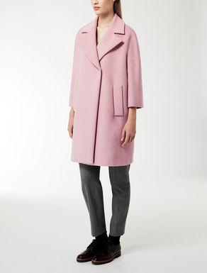 Mantel aus Wolle, Seide und Angora