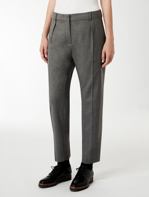 Pure wool trousers