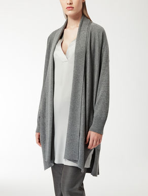 Wool and silk cardigan