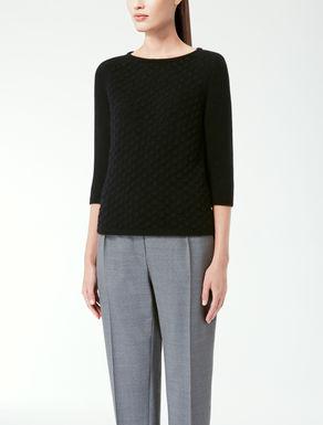 Angora knit shirt