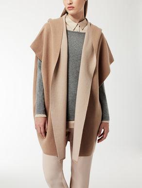 Pèlerine en laine et cachemire