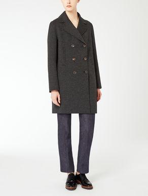 Manteau en laine et angora