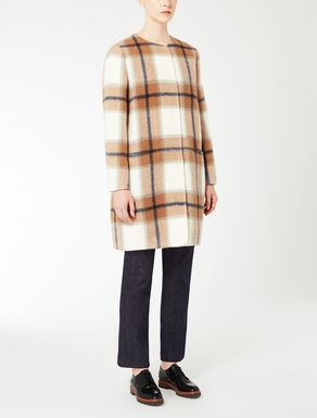 Mohair wool coat