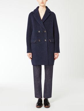 Manteau en laine et alpaga