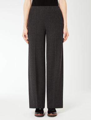 Pantalon large en flanelle