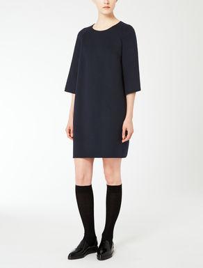 Wool and angora dress