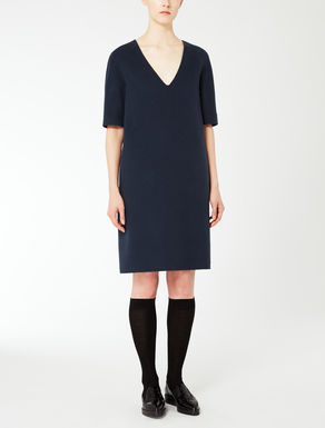 Wool and angora dress