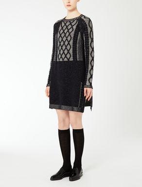 Robe en laine et cachemire