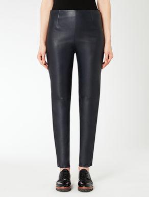 Pantalon en cuir nappa