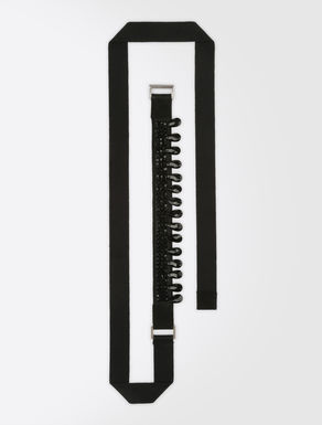 Cotton fabric belt