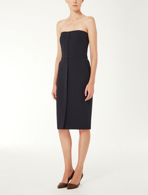 Wool and silk cady dress