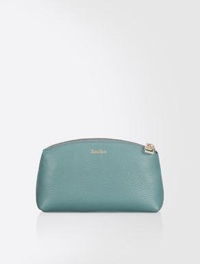 Leather beauty case