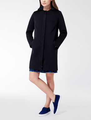 Drop-proof duchesse overcoat