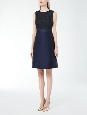 Organza-Duchesse-Kleid in Fil-coupé