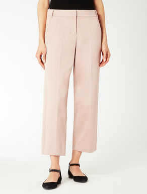 Cotton duchesse trousers