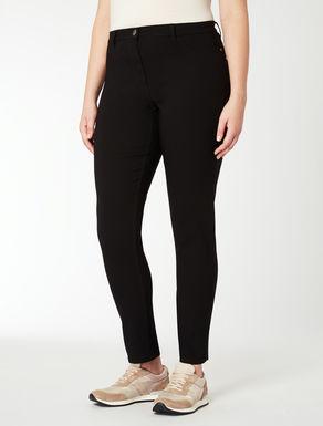 Pantaloni cinque tasche stretch