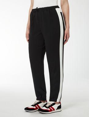 Pantalone jogging con bande laterali