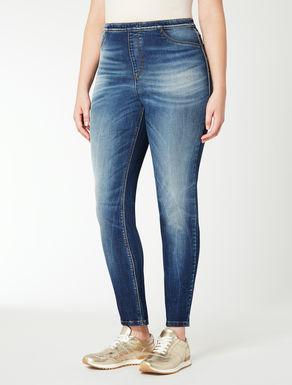 Jeans in denim stretch leggings fit
