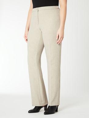Pantalone classico straight fit