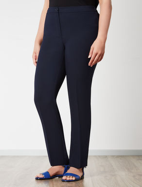 Pantalone slim fit con elastico