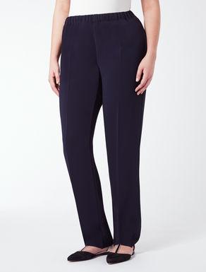 Pantalone classico con elastico