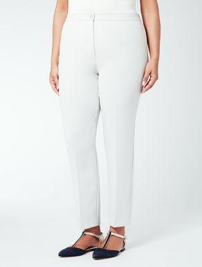 Pantalone in triacetato con elastico