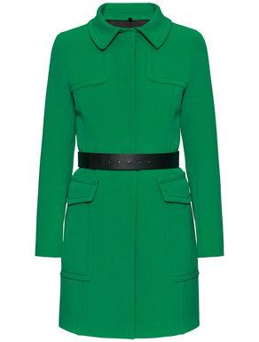 Military-style overcoat