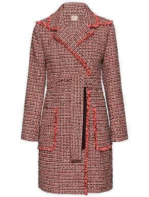 Woven roving coat