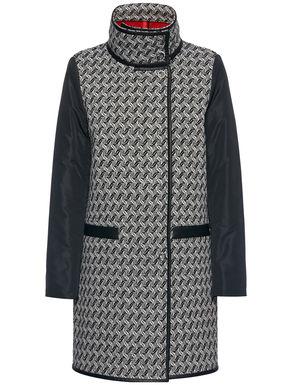 Fancy-patterned coat