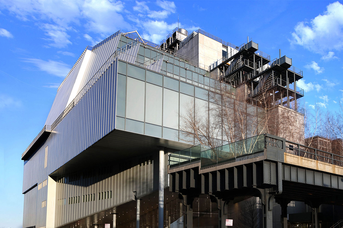 プロジェクト<br> レンゾ・ピアノ ビルディングワークショップデザインによる<br> クレジット:エド・レーダーマン - ホイットニー美術館の許可により転載