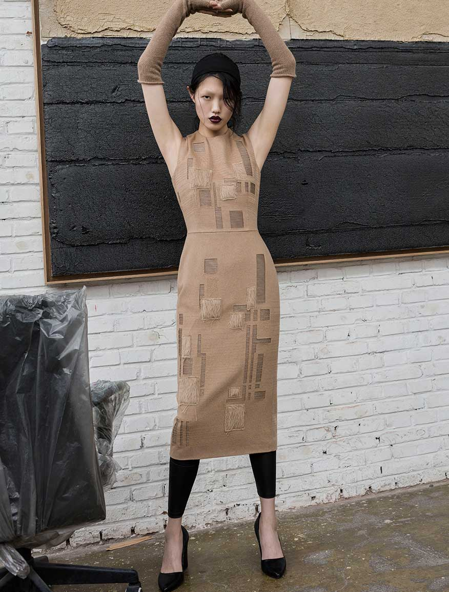 ジャカード ドレス