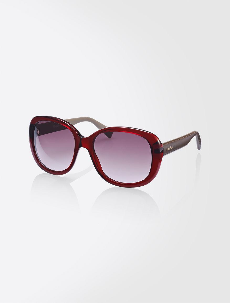 "Capsule collection ""crosslinked"" glasses Max Mara"