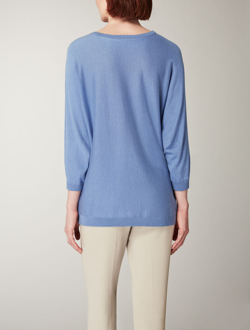 Silk and cashmere knitwear