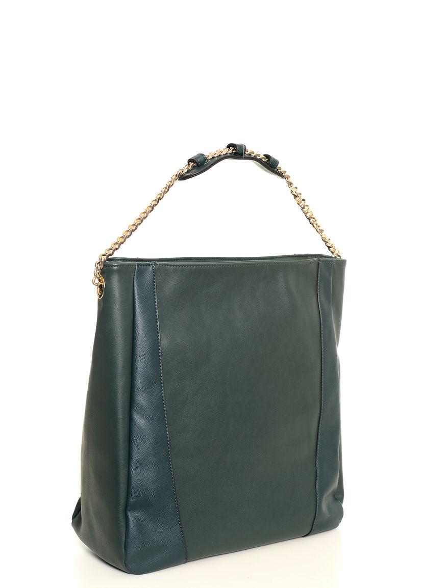 Shopping bag in similpelle
