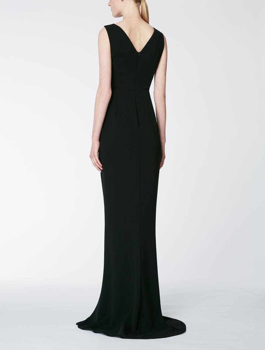 Cady and organza dress