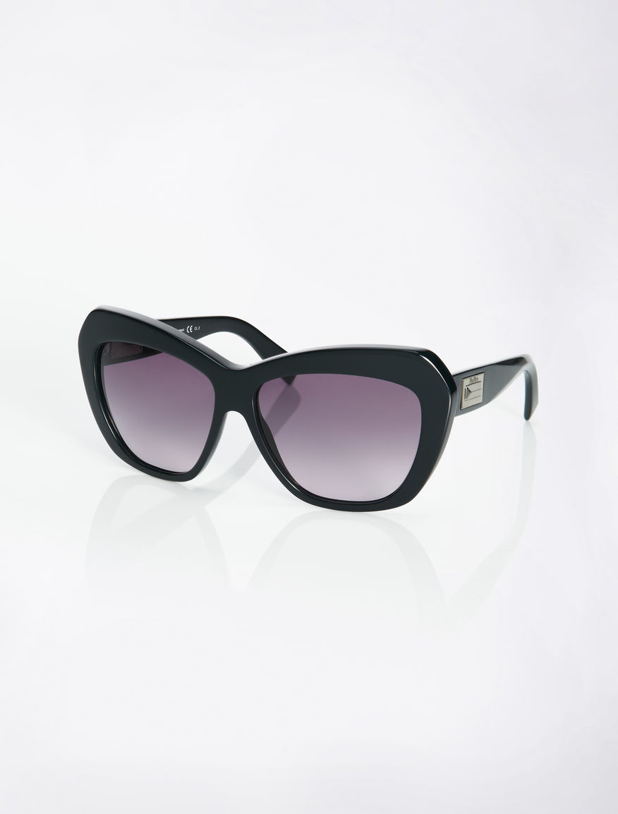 Black butterfly sunglasses