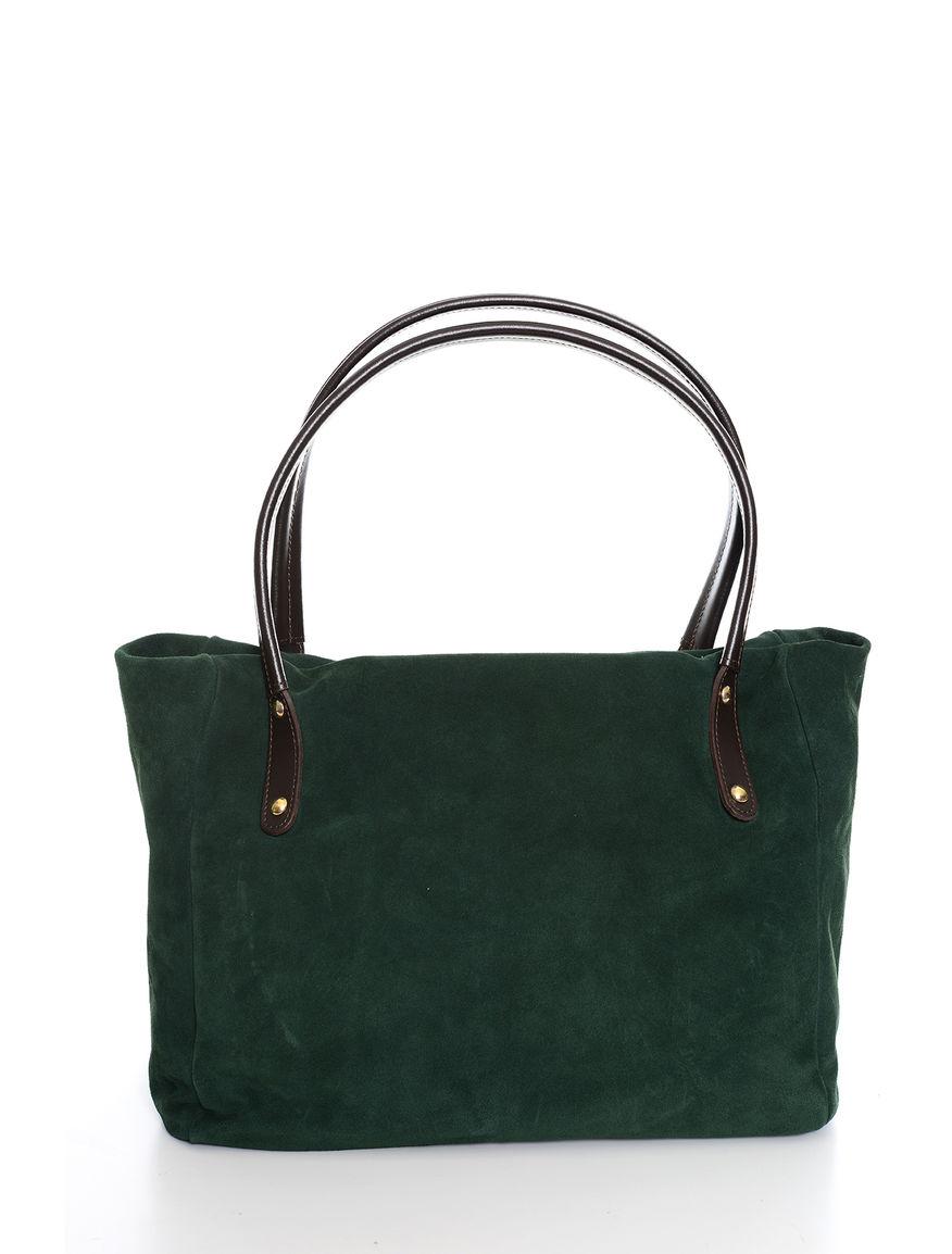 Shopping bag bimateriale