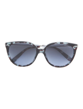 Occhiali da sole cat-eye di acetato