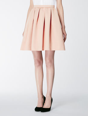 Duchesse fabric skirt