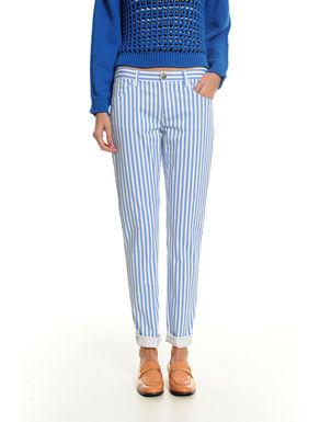 Pantaloni in denim di cotone