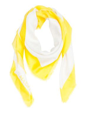 Maxi foulard di seta stampata